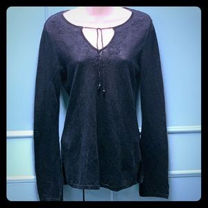 🆕 GAP lightweight bohemian-inspired sweater